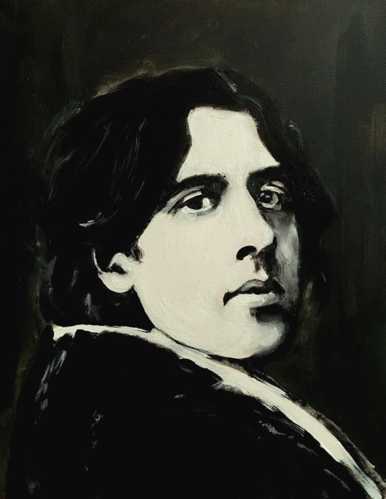 De Profundis (a portrait of Oscar Wilde)