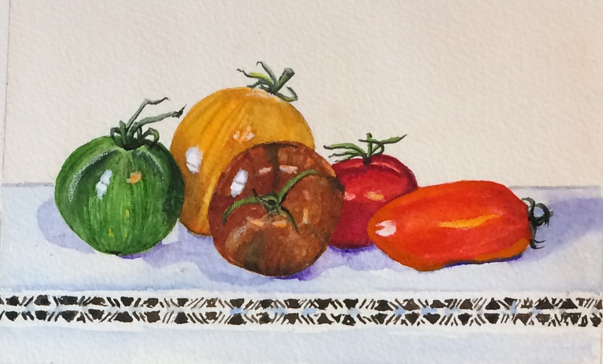 Heritage tomatoes - sold