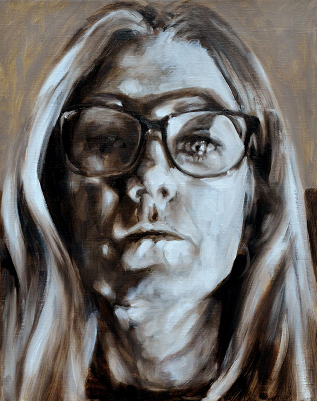 Self Portrait in Glasses