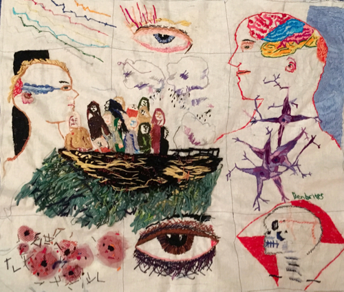 Ship of Fools Embroidery