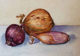 Onions and shallot -sold